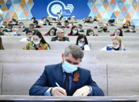 Олег Николаев свой первый «Диктант Победы» писал в Германии, а нынешний – уже в Чувашии