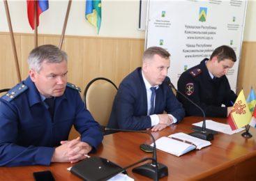 Оперативное совещание при главе администрации Комсомольского района