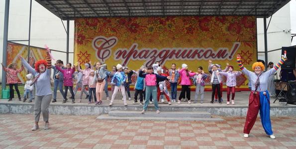 Праздник, посвященный Международному дню защиты детей