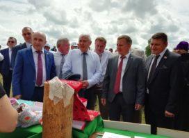 Комсомольском районе прошел праздник песни, труда и спорта «Акатуй