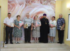 Супружеские пары наградили медалью «За любовь и верность»
